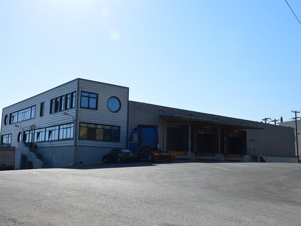 Εργοστάσιο συσκευασίας φρούτων και λαχανικών